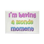 The Blonde's Rectangle Magnet (100 pack)