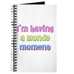 The Blonde's Journal