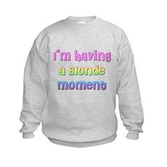 The Blonde's Sweatshirt