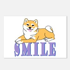 Shiba Smile Postcards (Package of 8)