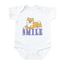 Shiba Smile Infant Bodysuit