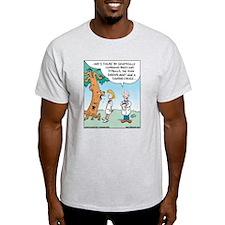 Pitbull Dog saves Rainforest Ash Grey T-Shirt