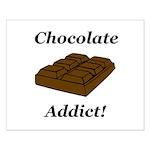 Chocolate Addict Small Poster