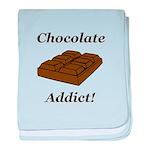 Chocolate Addict baby blanket
