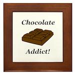 Chocolate Addict Framed Tile