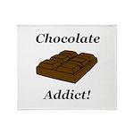 Chocolate Addict Throw Blanket