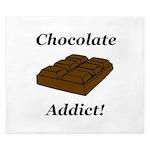 Chocolate Addict King Duvet