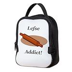 Lefse Addict Neoprene Lunch Bag