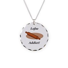 Lefse Addict Necklace