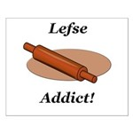 Lefse Addict Small Poster