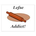 Lefse Addict Small Poster