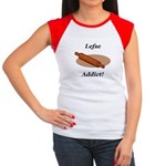 Lefse Addict Junior's Cap Sleeve T-Shirt