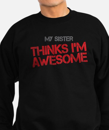 Sister Awesome Sweatshirt (dark)