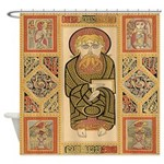 Lindisfarne Shower Curtain