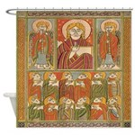 Saints Of Kells Shower Curtain