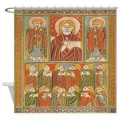 Saints Of Kells Shower Curtain