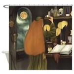 Irish Sorceress Shower Curtain