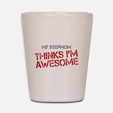 Stepmom Awesome Shot Glass