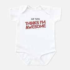 Tutu Awesome Infant Bodysuit