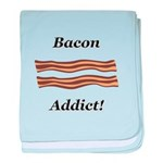 Bacon Addict baby blanket