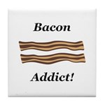 Bacon Addict Tile Coaster