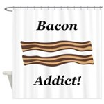 Bacon Addict Shower Curtain