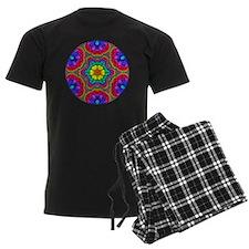 Rainbow Flower Mandala Pajamas