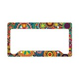 Hippie License Plate Frames