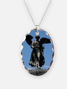 Bethesda Fountain Angel Necklace