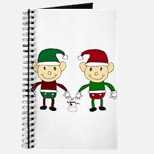 Christmas Elves Journal