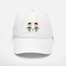 Christmas Elves Baseball Baseball Baseball Cap