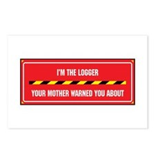 I'm the Logger Postcards (Package of 8)