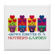 Mother's Garden Tile Coaster