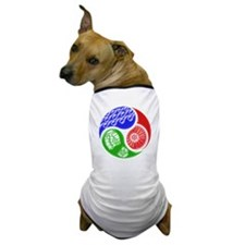 Triathlon TRI Swim Bike Run 3D Dog T-Shirt