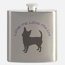 Love Me Love My Chi Flask