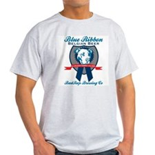 Blue Ribbon Pilsner Ash Grey T-Shirt