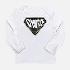 Fitzpatrick Superhero Long Sleeve Infant T-Shirt