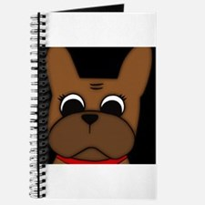 Cool French bulldog pied Journal