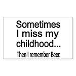 Sometimes I miss my Childhood Sticker