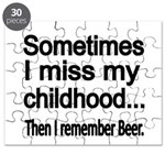 Sometimes I miss my Childhood Puzzle