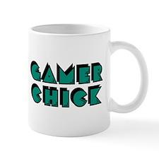 Gamer Chick Teal Mugs