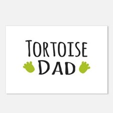 Tortoise Dad Postcards (Package of 8)