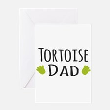 Tortoise Dad Greeting Cards