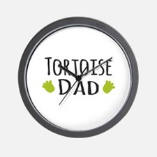 Tortoise Dad Wall Clock