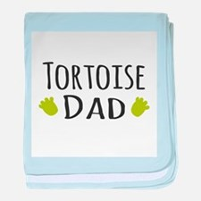 Tortoise Dad baby blanket
