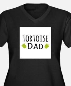 Tortoise Dad Plus Size T-Shirt