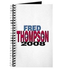 Fred Thompson 2008 Journal