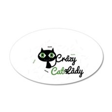 Crazy Cat Lady Wall Decal