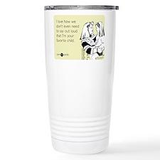 Mothers Favorite Child Travel Coffee Mug
