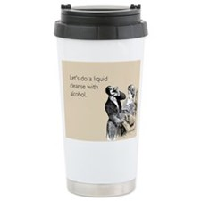 Alcohol Cleanse Stainless Steel Travel Mug
